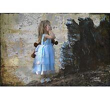 Alice in Wonderland Photographic Print