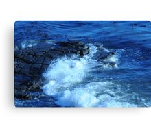 Pacific Splashes Canvas Print