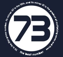 73 is the best number Kids Clothes