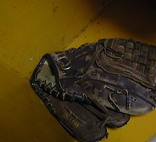 baseball glove by lizwaltzes