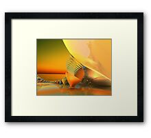 Mysterious Unknown World Framed Print