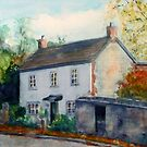 Ivy Cottage, Kington by JayteesArt