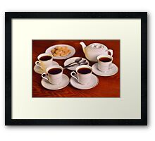 Tea with friends  Framed Print