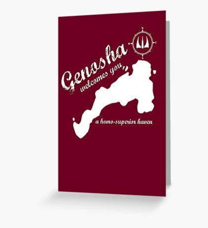 Genosha Greeting Card
