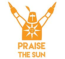 Praise The Sun Photographic Print