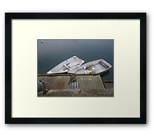 Raincatchers Framed Print
