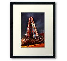 The red tower Framed Print