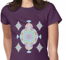Vintage Moroccan Pattern in Lavender Womens Fitted T-Shirt