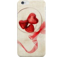 Valentine Heart and Ribbon iPhone Case/Skin