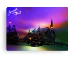 UBI CARITAS: Where charity and Love are .... Canvas Print