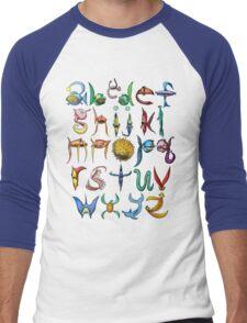 Alfishbet Men's Baseball ¾ T-Shirt