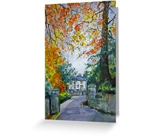 'Ridgebourne', Kington, Herefordshire Greeting Card