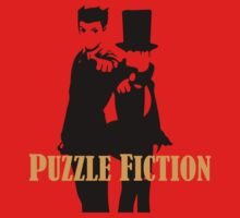 Puzzle Fiction Baby Tee