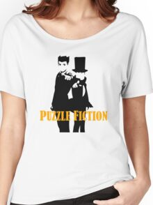 Puzzle Fiction Women's Relaxed Fit T-Shirt