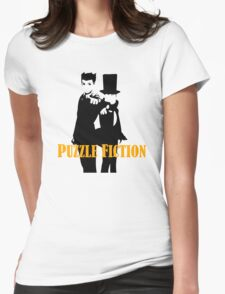 Puzzle Fiction Womens Fitted T-Shirt