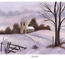 Winter Church by Tim Emmerson