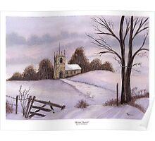 Winter Church Poster