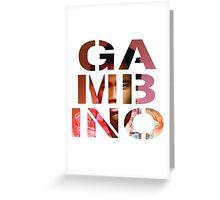 Gambino Greeting Card