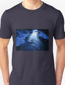 Icy winter blue river T-Shirt