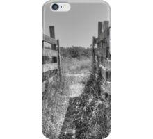 Livestock Chute iPhone Case/Skin