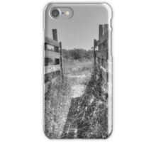 Livestock Chute iPhone Case/Skin