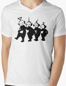 Teletubbies Mens V-Neck T-Shirt
