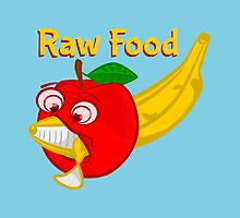 Raw Foods Food Fight by piedaydesigns