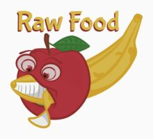 Raw Foods Food Fight Baby Tee