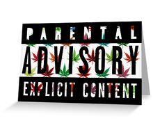 Explicit Content 5 Greeting Card