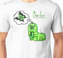 Contemplating Caterpillar  Unisex T-Shirt