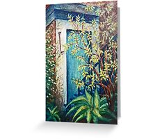 The Hook by the Door Greeting Card