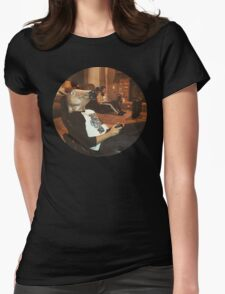 Gaming Horse and Gaming Human Womens Fitted T-Shirt