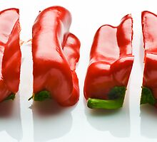 Capsicum Quarters by Ryan Carter
