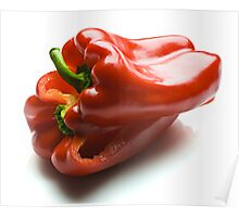 Capsicum Slices Poster