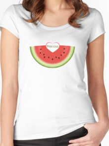 Melon-icious Women's Fitted Scoop T-Shirt