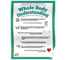 Whole Body Understanding Poster (Neurodivergent) Poster