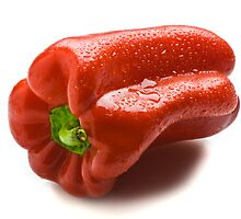 Wet Capsicum by Ryan Carter