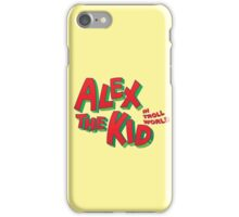 Alex the Kid iPhone Case/Skin