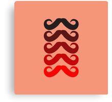 Mustache Canvas Print