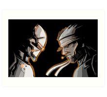 Ninja Vs Snake Art Print