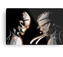 Ninja Vs Snake Metal Print