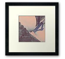 Upon the Best of a Minor Interference Framed Print