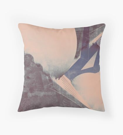 Upon the Best of a Minor Interference Throw Pillow