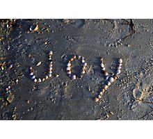 JOY Is A Beach Photographic Print