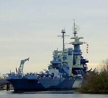 Battleship North Carolina by Lindonesia