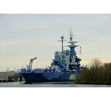 Battleship North Carolina Photographic Print
