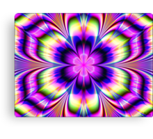 Crazy Petals Canvas Print