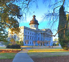 SC Statehouse, Columbia, SC by Lindonesia