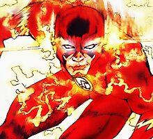 The Flash by Iakona Rafael