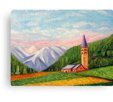 Landscape painting Canvas Print